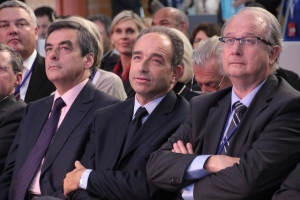 Fillon et Copé côte à côte. Photo: UMP (CC BY-NC-ND 2.0)