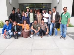 Les trois rédactions cantonales à la formation multimédia en Valais, juin 2012