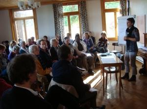 Les délégués des associations romandes réunis à Montbarry