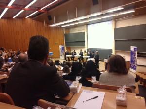 Table ronde organisée par Mode d'emploi le 16.11.12 à l'Université de Lausanne pour célébrer ses 20 ans d'existence. Photo: Pastodelou.