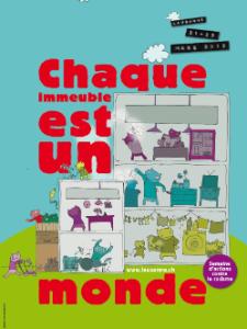 Affiche de la semaine contre le racisme à Lausanne