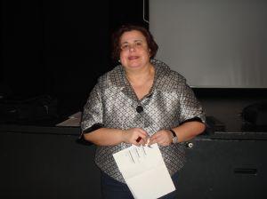 Gabriela Amarelle, déléguée à l'intégration de la Ville de Lausanne. Photo: Voix d'Exils