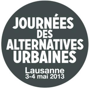 Logo des Journées des alternatives urbaines