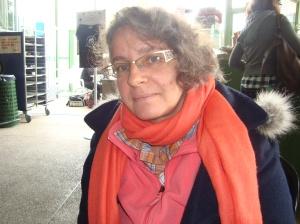 Lucienne Serex. Photo: Voix d'Exils