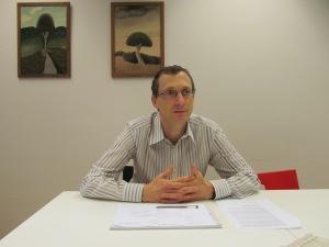 Christian Raetz, préposé à la protection des données et à l'information du canton de Vaud.