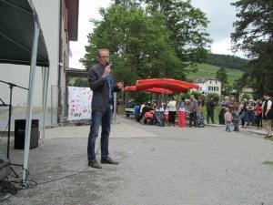 M Erich Dürst, directeur de l'EVAM. Photo: Voix d'Exils