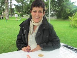 Mme Christine Blatti Villalon, cheffe du secteur Est de l'EVAM. Photo: Voix d'Exils