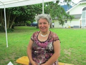 Annelise Cretton,  membre du Groupe d'appui aux réfugiés. (GAR)