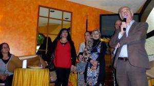 Discours de Claude SCHWAB, président d' Appartenances à l'occasion des 20 ans de l'association. Photo: Voix d'Exils