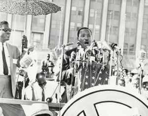 "Martin Luther King déclamant ""I have a dream"". Auteur: Digital Collections, UIC(CC BY-NC-ND 2.0)"