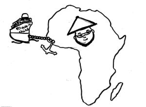 Un dessin signé la rédaction valaisanne de Voix d'Exils