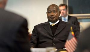 M. Yoweri Museveni, Président de l'Ouganda