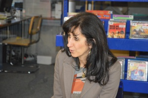 Mme Lina Hleihel. Photo: Voix d'Exils