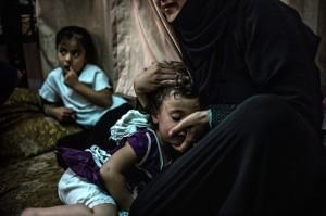 © ACNUR/O. Laban-Mattei. Une mère syrienne réfugiée qui vit dans Amán, la Jordanie. (CC BY-NC-SA 2.0). Auteur: AcnurLasAméricas