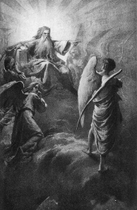 Lucifer versus the Lord. Wikimedia commons