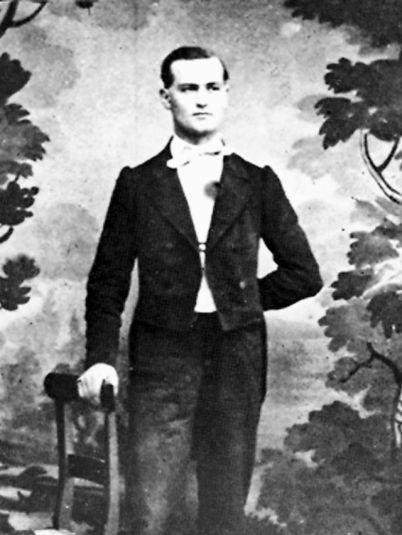 Joseph Samuel Farinet (1845-1880). Image: Médiathèque du Valais.