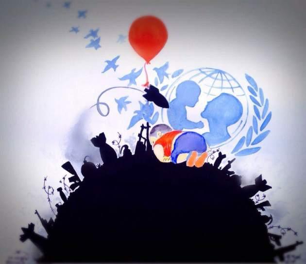 Image réalisée par Hossein, membre de la rédaction neuchâteloise de Voix d'Exils